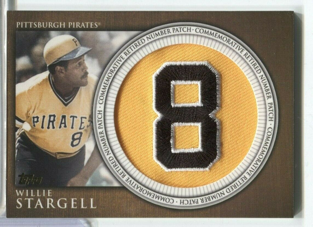 Willie Stargell Pittsburgh Pirates Jersey Card RN-WS TOPPS 2012 120419DBCD