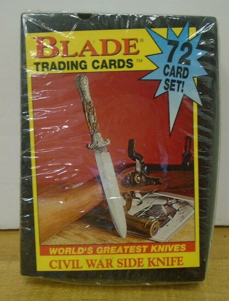 Blade Trading Cards Worlds Greatest Knives Extremely Rare Vintage 062419DBT2