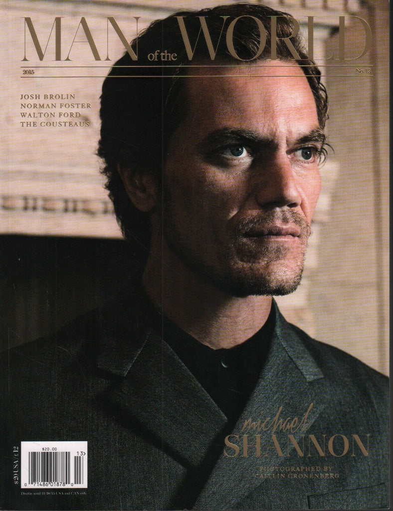 Man of the World No.13 2015 Michael Shannon Josh Brolin 102618DBF