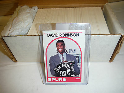 1989-1990 HOOPS NBA TRADING CARDS - SET (1-352, 352 CARDS) MJ & D Robinson