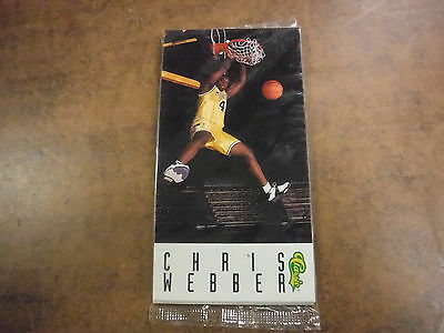 Classic Sealed Basketball Pack w/Chris Webber (Anfernee Hardaway on back) jh22