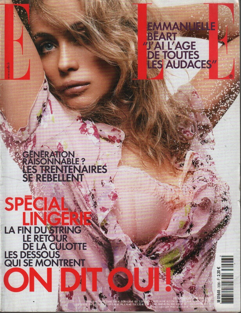 Elle French Fashion Magazine 2 Mai 2005 Emmanuelle Beart 091819AME