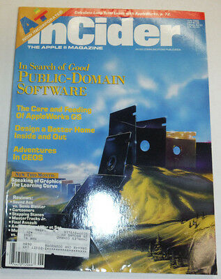 Apple InCider Magazine The Care And Feeding Of Appleworks June 1989 111514R