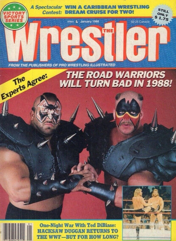The Wrestler January 1988 Road Warriors, Ted DiBiase 032717nonDBE