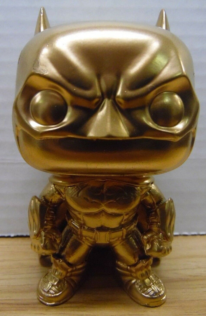 Unbranded Batman Gold Custom Funko Figure 011018CFP