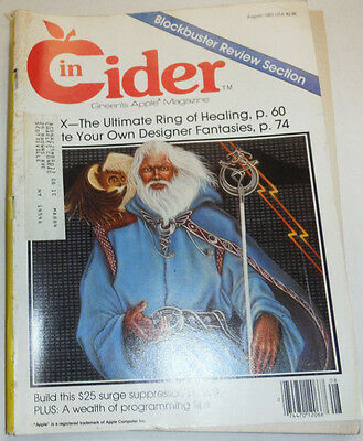 Incider Magazine X- The Ultimate Ring Of Healing August 1983 112014R