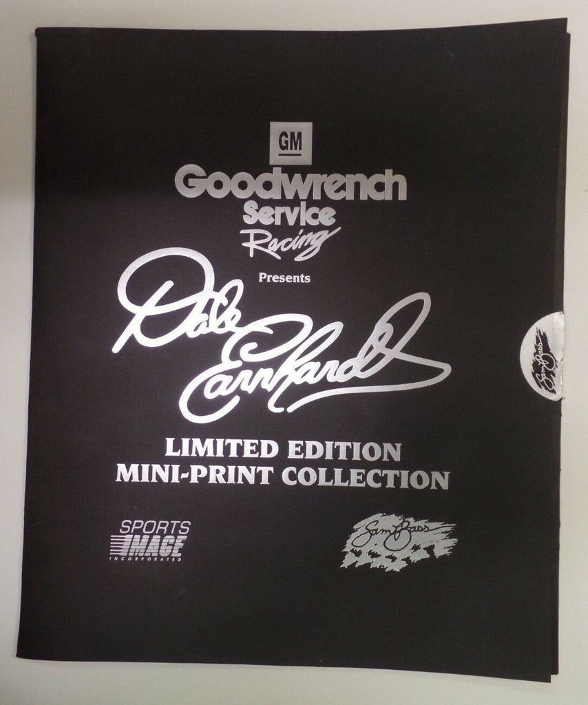 Dale Earnhardt Sam Bass Mini-Print Collection 169/3000 September 1995
