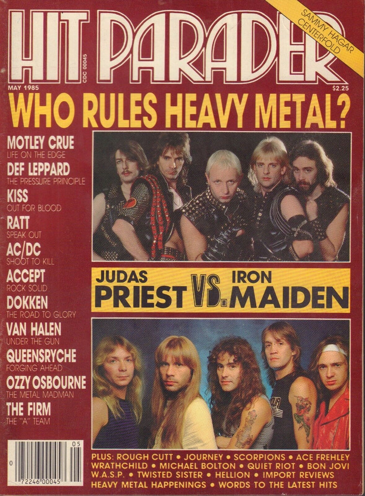 Hit Parader May 1985 Judas Priest, Iron Maiden 050317nonDBE