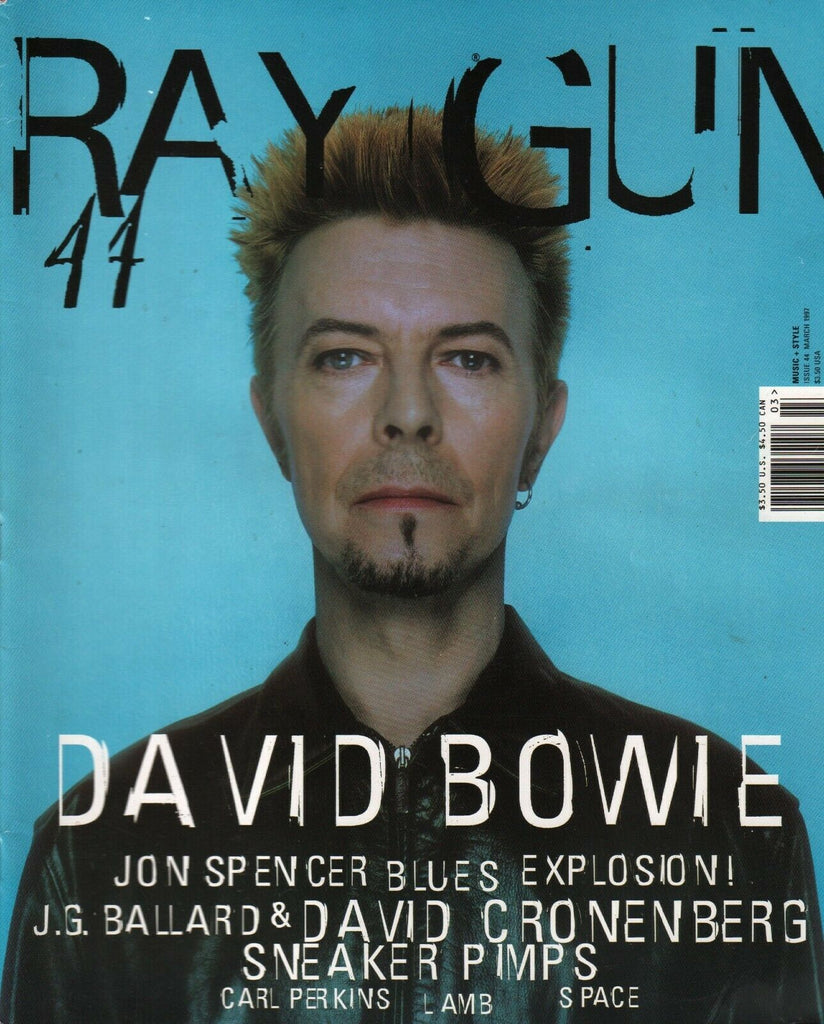 Ray Gun Magazine March 1997 David Bowie Jon Spencer Carl Perkins 013120AME
