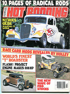 Hot Rodding Magazine July 1978 World's Finest T Roadster VGEX 122215jhe