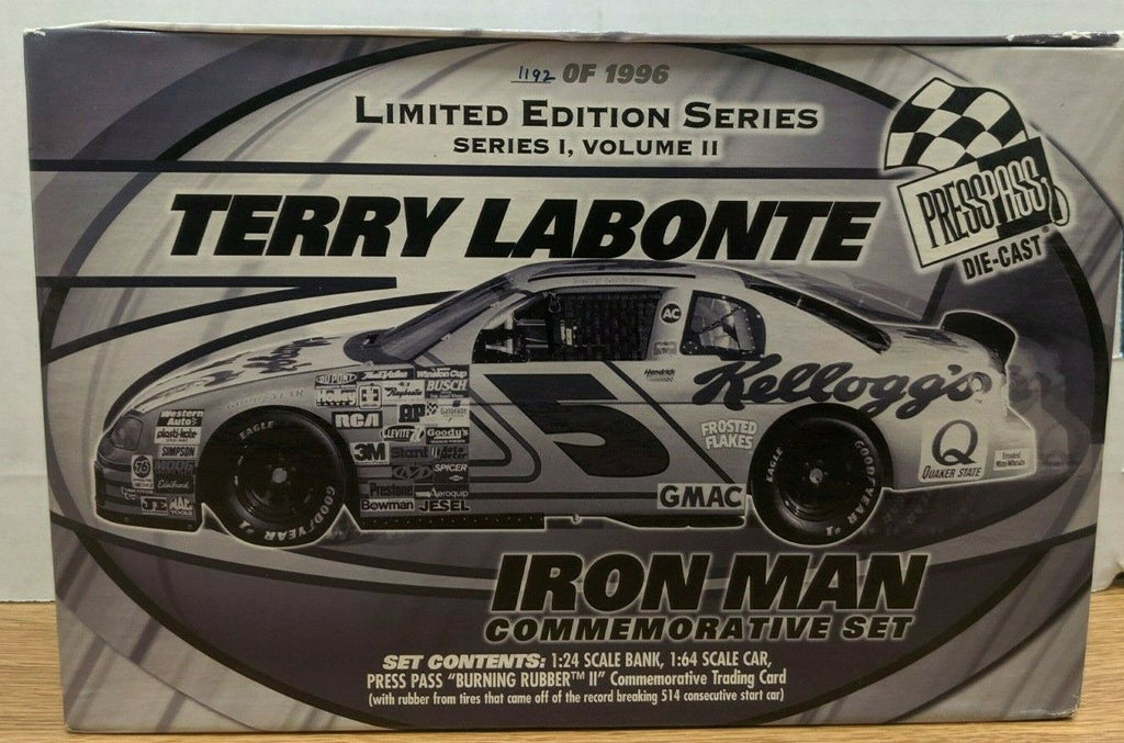 Terry Labonte Series 1 Vol 2 1192 of 1996 Iron Man Set 1:24 Diecast 092319DBT3
