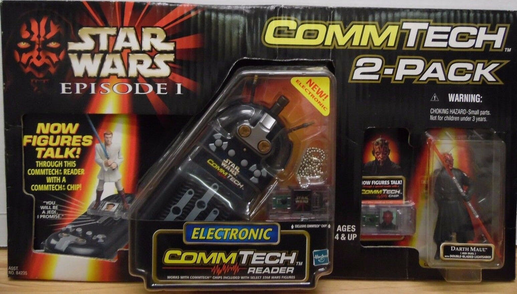 Star Wars Ep.1 CommTech 2 Pack CommTech &Darth Maul