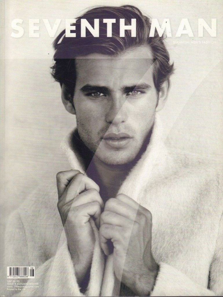 7th Seventh Man Fashion Issue 8 Fall Winter Felix Larher Jenny Brough 120818DBF