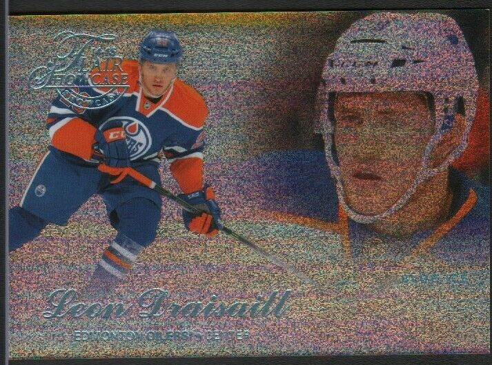 Leon Draisaitl Oilers Blue Ice Flair Showcase XV4Y9 2015 051519DBCD