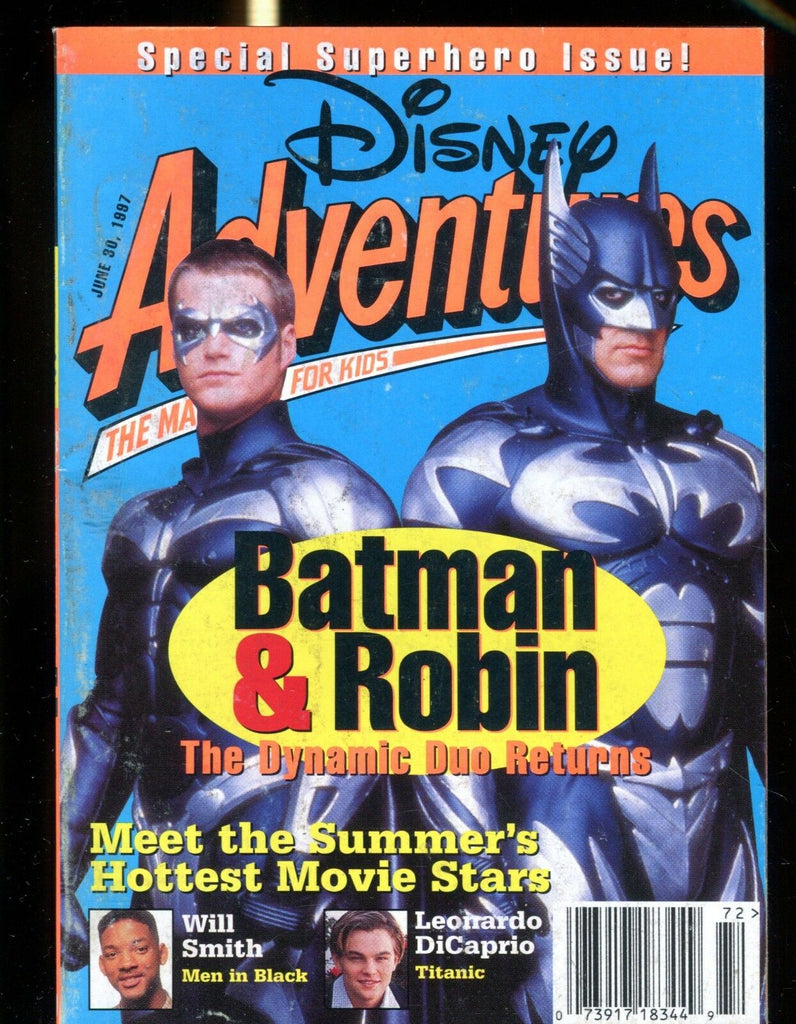 Disney Adventures Magazine June 30 1997 Batman & Robin VG No ML 013117jhe