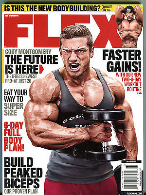 Flex Magazine October 2015 Cody Montgomery IFBB's Newest Pro EX 123015jhe