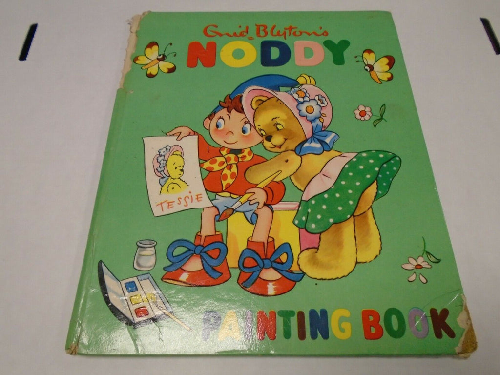 Enid Blyton's Noddy Painting Book Hardcover 112619AME