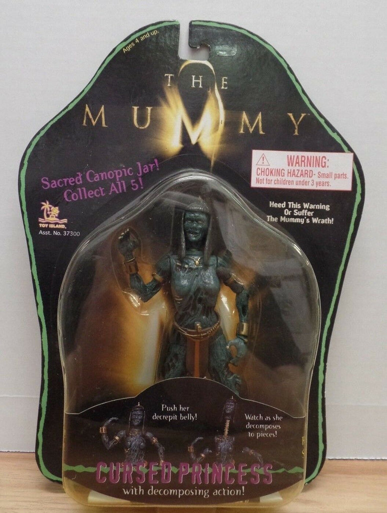 "The Mummy Cursed Princess 6"" Figure 072718DBT3"