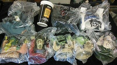 Star Wars Episode 1 Collector Cup and 8 Figure Tops, Taco Bell Promo 112513ame3