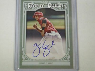 2013 Topps Gypsy Queen Autographed Zack Cozart #GQA-ZC TJ1