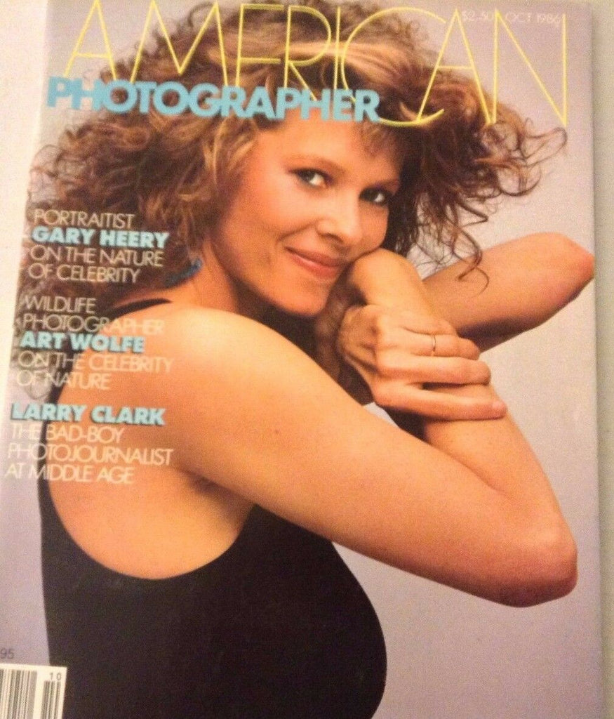 American Photographer Magazine Kate Capshaw October 1986 NO ML 072617nonrh2