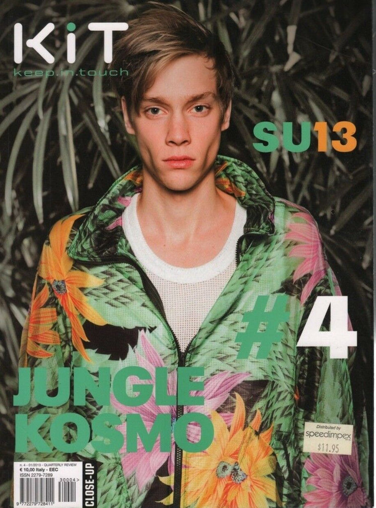 KiT Keep in Touch #4 Italy Fashion Magazine Jungle Kosmo 110818DBE