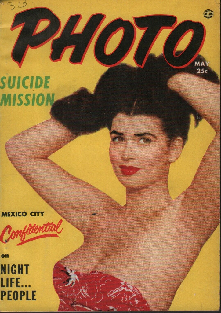 Photo Digest May 1953 Joan Wynne Cheesecake Pin Up 070819AME