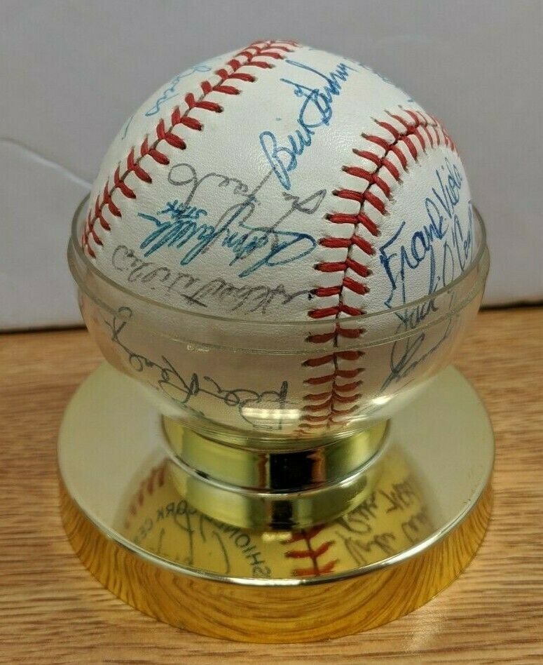 Early 1980's Minnesota Twins Team Rawlings Ball 26 Signatures w/COA 091219DBT3