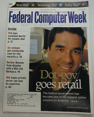 Federal Computer Week Magazine Dot-Gov Goes Retail May 2001 071515R