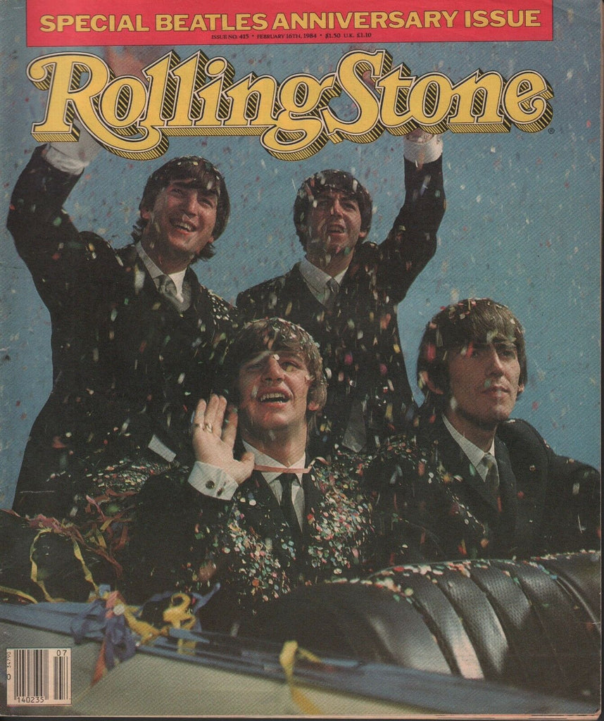 Rolling Stone February 16 1984 The Beatles Anniversary Issue 042618DBE