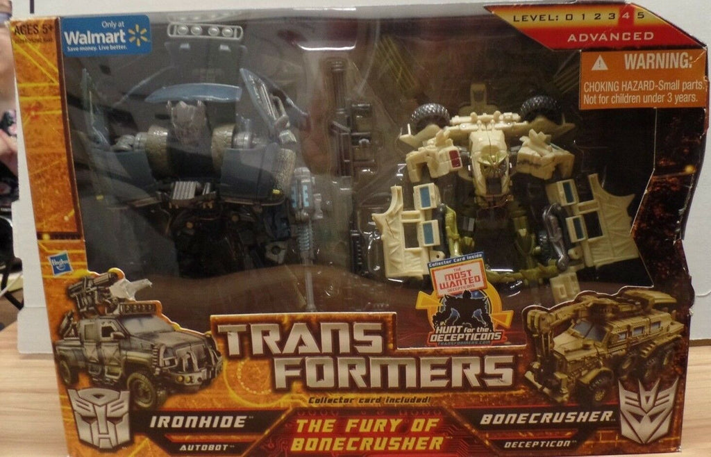 Transformers HFTD The Furry Of Bonecrusher Set Ironhide Walmart 103018DBT4