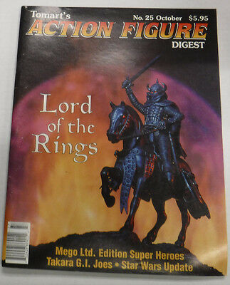 Action Figure Digest Magazine Lord Of The Rings October 1995 No.25 082115R