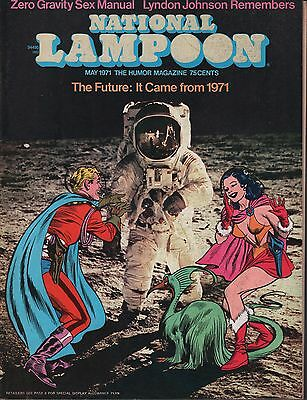 National Lampoon May 1971 The Future: It came from 1971 EX 122915DBE