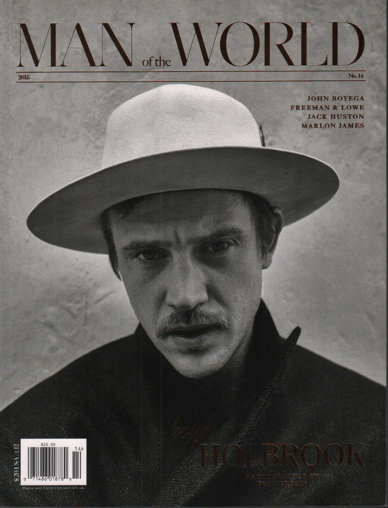 Man of the World No.14 2015 Boyd Holbrook Beau Grealy Jack Huston 102618DBF