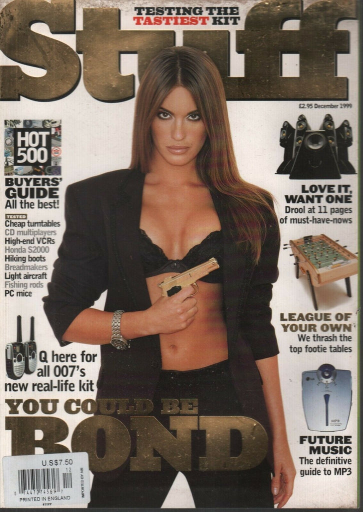 Stuff UK Technology Magazine December 1999 James Bond 120919AME2