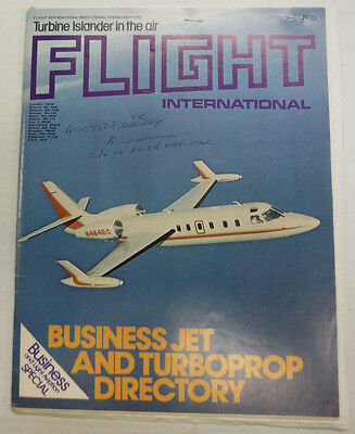 Flight International Magazine Business Jet Turboprop November 1981 FAL 060915R2
