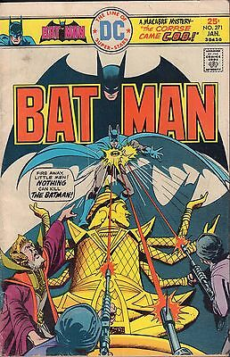 Batman No.271 The Corpse Came C.O.D. VG 070116DBC