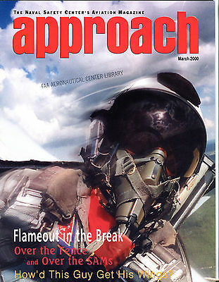 Approach Magazine March 2000 Flameout In The Break EX FAA 030716jhe