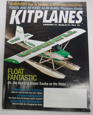 Kitplanes Magazine Float Fantastic Tundra On The Water June 2008 072215R