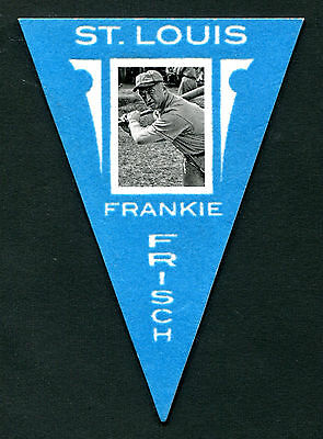 2012 Panini Golden Age #9 Frankie Frisch St. Louis Pennant Card EX jh20