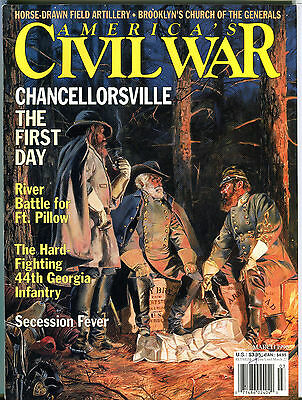 America's Civil War Magazine March 1996 Chancellorsville EX 080116jhe