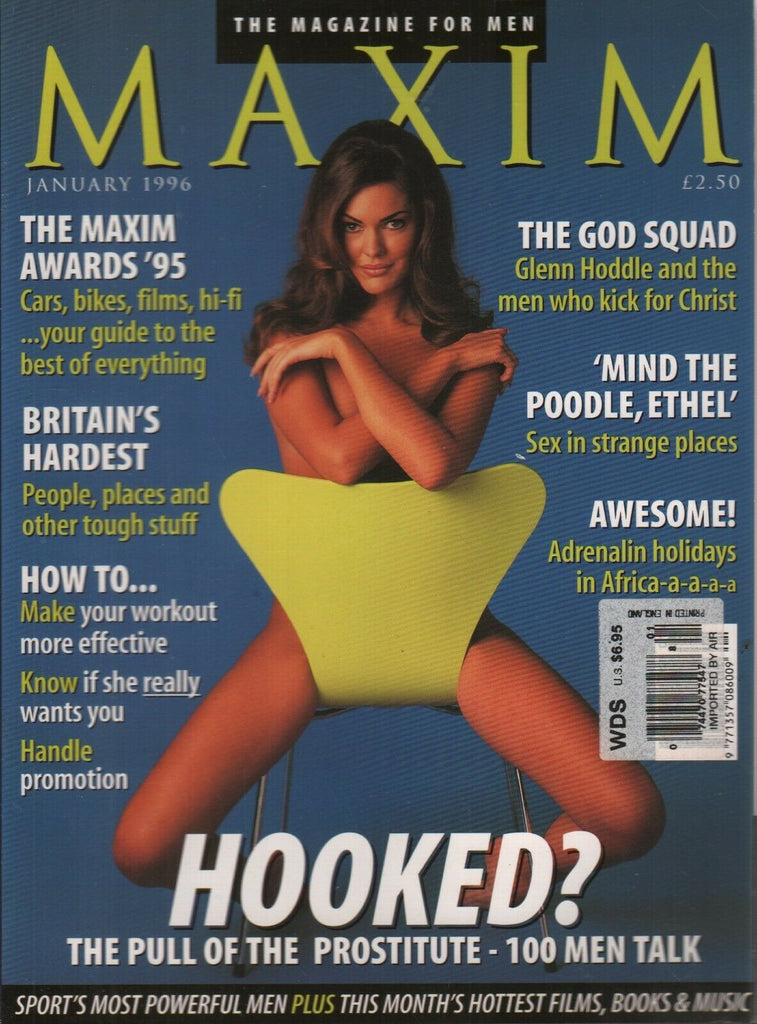 Maxim UK Edition January 1996 Debbie Bee 121619AME