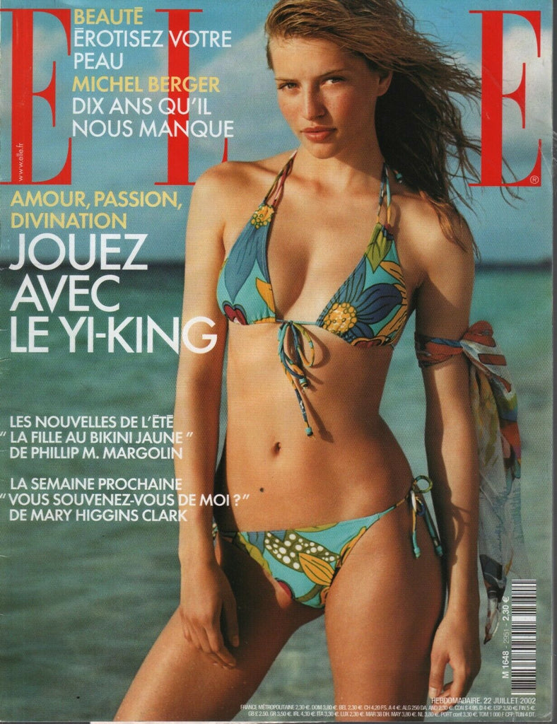 Elle French Magazine 22 Juillet 2002 July Michel Berger 090919AME
