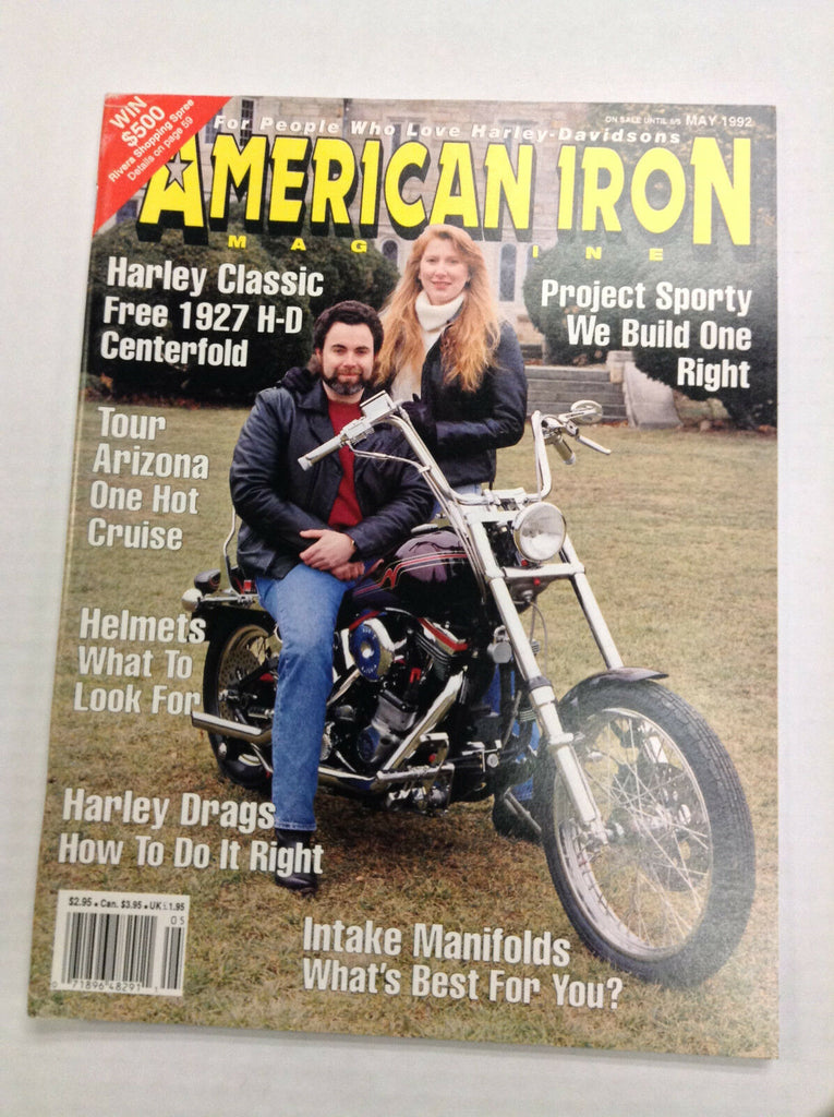 American Iron Magazine Tour Arizona & Helmets May 1992 031017NONRH