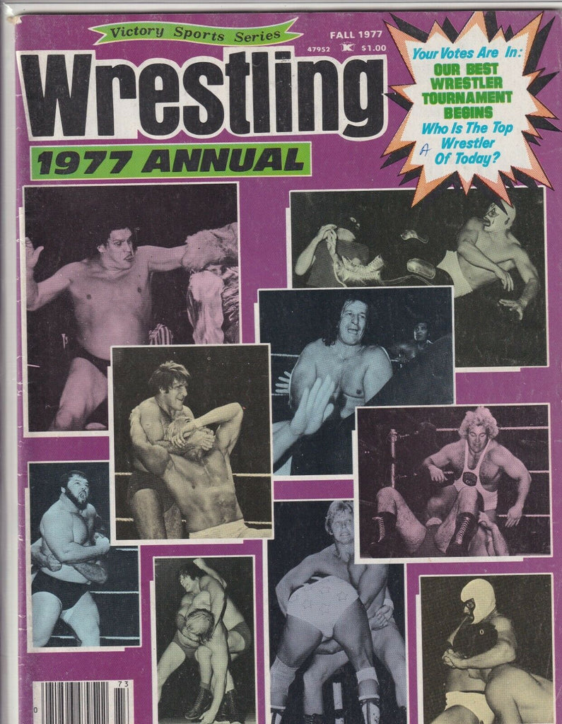 Victory Sports Wrestling Annual 1977 Andre The Giant Fall 1977 062419nonr