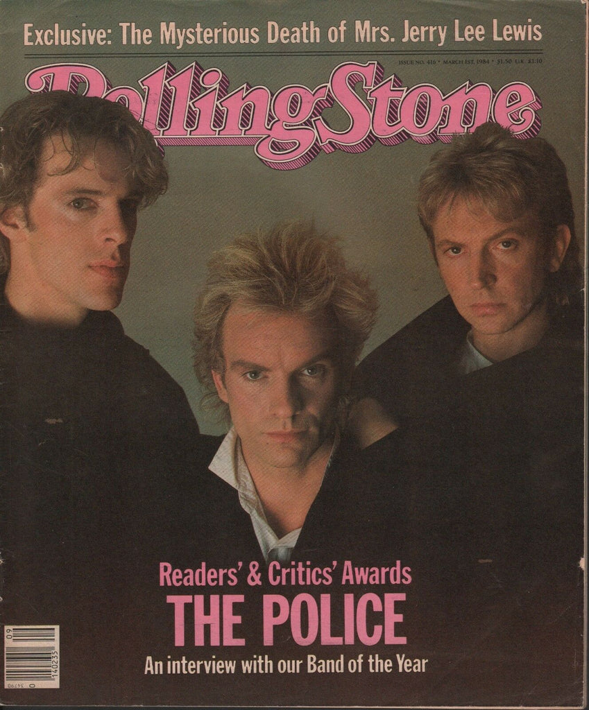 Rolling Stone March 1 1984 The Police 042618DBE