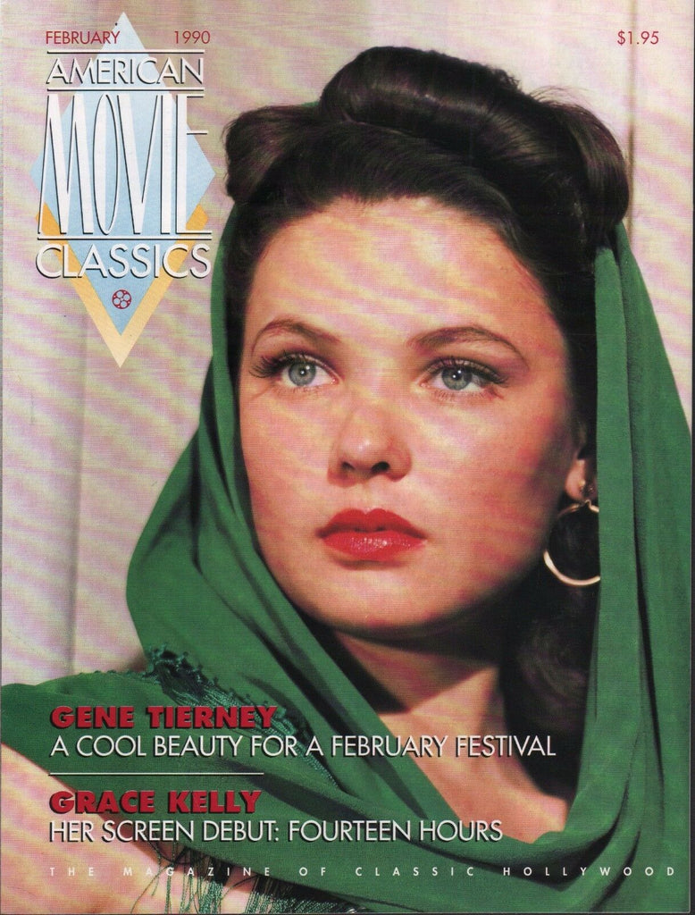 American Movie Classics February 1990 Gene Tierney Grace Kelly 072717nonDBE2