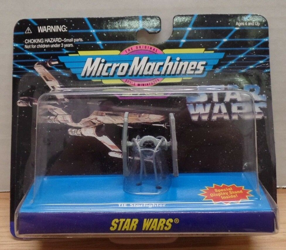 TIE Starfighter Star Wars Galoob Micro Machines 080718DBT3