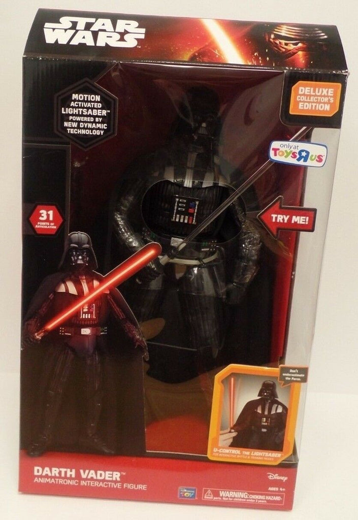 Darth Vader Animatronic Interactive Figure Star Wars The Force Awakens Disney