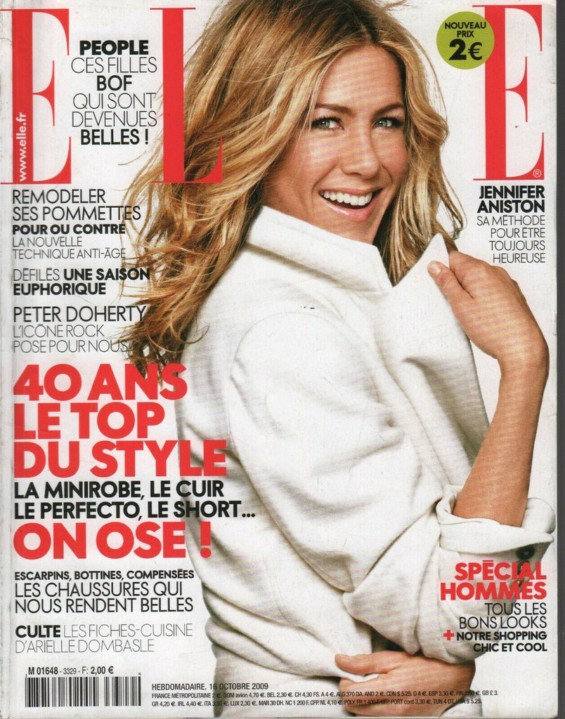 Elle French Fashion Magazine 16 Octobre 2009 Jennifer Aniston 091819AME